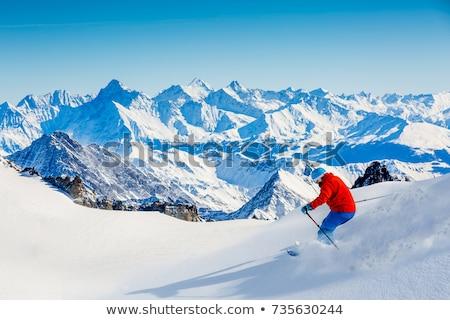 Mont Blanc - Dent du Geant Stock photo © Antonio-S