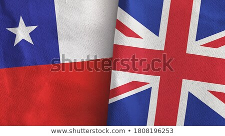 United Kingdom and Chile Flags Stock photo © Istanbul2009