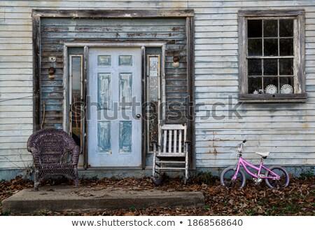 木材 おもちゃ 自転車 ストックフォト © Morphart