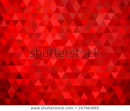 red triangle background Stock photo © tony4urban