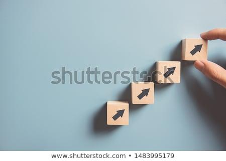 pauze · mechanisme · paard · hout - stockfoto © lightsource