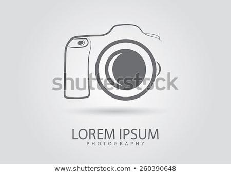 logo · icon · sluiter · oog · ontwerp · vorm - stockfoto © mcherevan