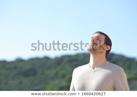 Man fresh air Stock photo © HASLOO