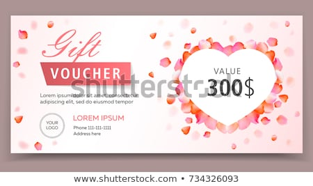 sevgililer · günü · güller · eps · 10 · ahşap · masa · üst - stok fotoğraf © beholdereye