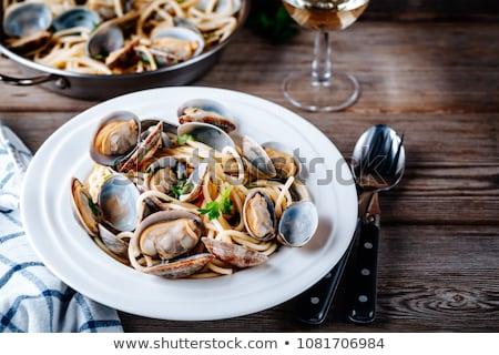 морепродуктов ресторан иллюстрация продовольствие морем шампанского Сток-фото © adrenalina