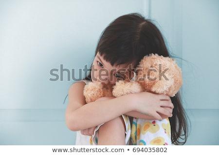 печально · девушки · кукла · изолированный · белый · подростку - Сток-фото © fanfo