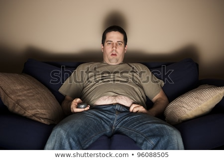 An image showing a couch potato Stock photo © bluering
