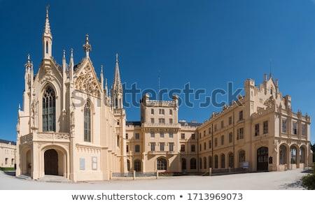 дворец · саду · Чешская · республика · здании · архитектура · завода - Сток-фото © phbcz