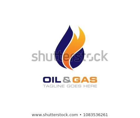 ストックフォト: 火災 · 難 · ロゴ · テンプレート · ベクトル · アイコン