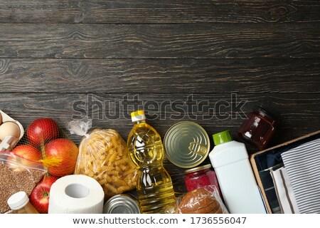 Diferente ilustración negro hielo pan Foto stock © bluering