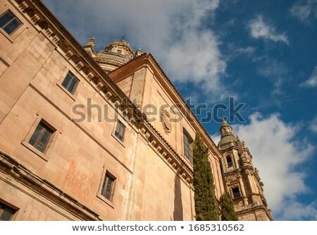 Cathédrale basilique Espagne la ciel bâtiment Photo stock © lunamarina