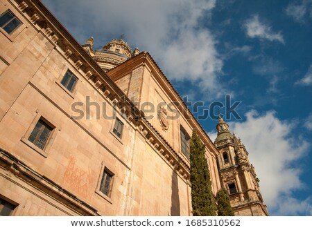 Katedral bazilika İspanya gökyüzü Bina Stok fotoğraf © lunamarina