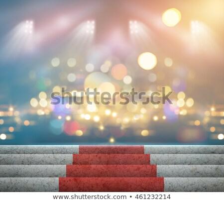Spot ışıklar sahne sanat konser kulüp Stok fotoğraf © SArts