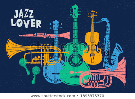 Love and jazz. Stock photo © Fisher