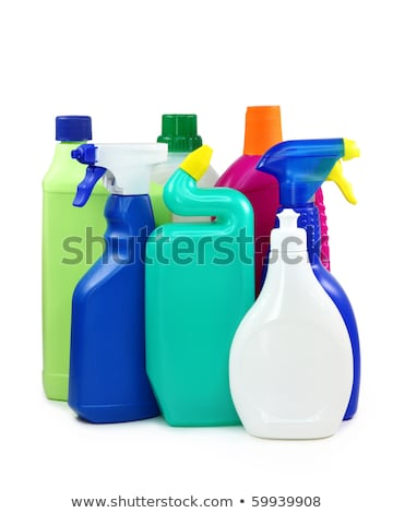 Disinfectant in a plastic bottle horizontally Stock photo © Cipariss