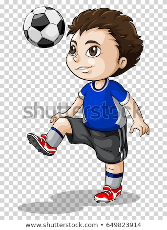 futbol · topu · oynama · futbol · beyaz · futbol · spor - stok fotoğraf © bluering