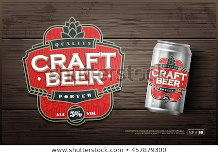Beer Logos and Labels Design Stock photo © reftel
