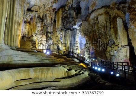 Paradise cave, Quang Binh, Vietnam travel, heritage Stock photo © xuanhuongho