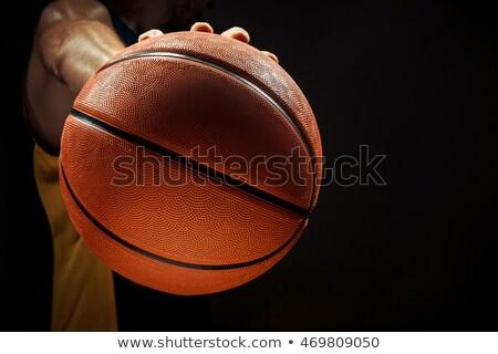 シルエット 表示 バスケット ボール ストックフォト © master1305