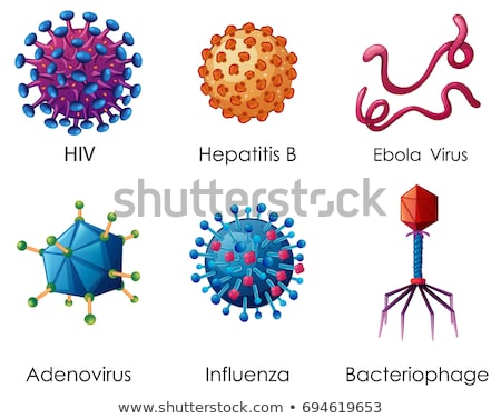 Hepatitis Virus Cell Stock photo © Lightsource