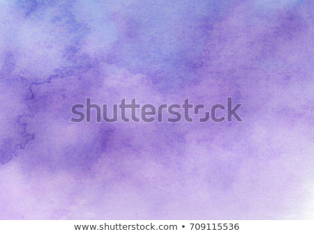 Stock photo: abstract purple watercolor texture background