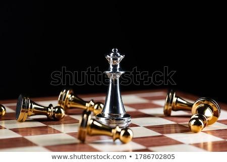 Taktikai uralom három nyers áll király Stock fotó © Fisher