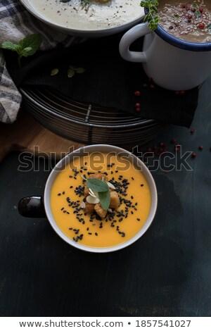 Iki adaçayı turuncu yeşil beyaz Stok fotoğraf © Digifoodstock