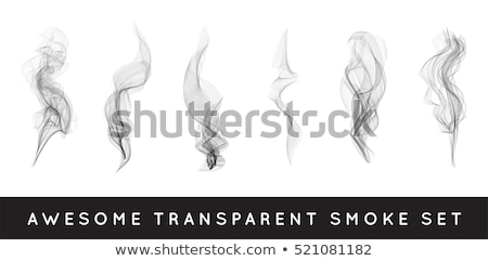 asbak · sigaret · witte · abstract · vector · kunst - stockfoto © pikepicture