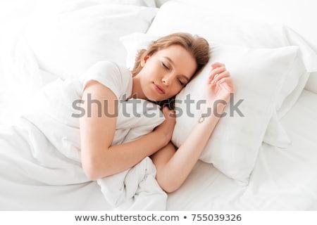 女性 · ベッド · 寝 · セクシー · 美 · 肖像 - ストックフォト © monkey_business