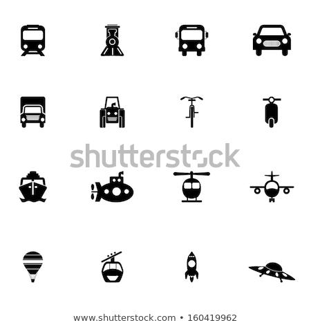 現代 ヘリコプター 実例 クリップアート 画像 ストックフォト © vectorworks51