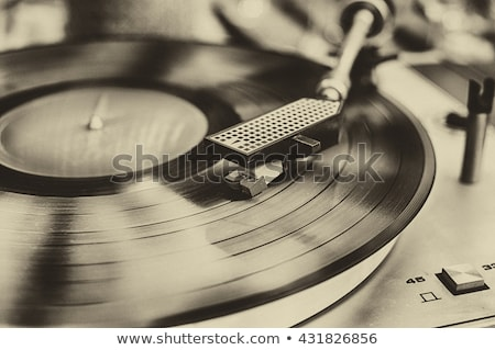vintage record player Stock photo © milisavboskovic