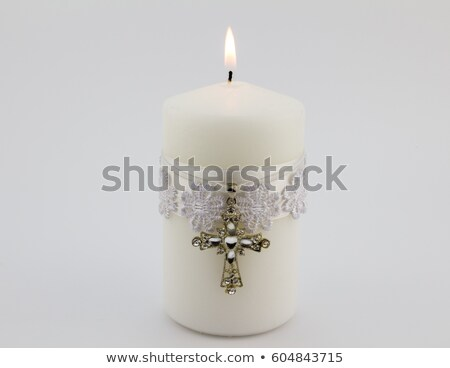 Holy Sacrament Baptism Stock photo © lenm