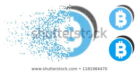 Dijital para sikke vektör Stok fotoğraf © tashatuvango