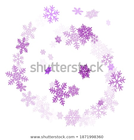 Confetti falling backdrop. Ultra violet. Vector illustration. Stock photo © gladiolus