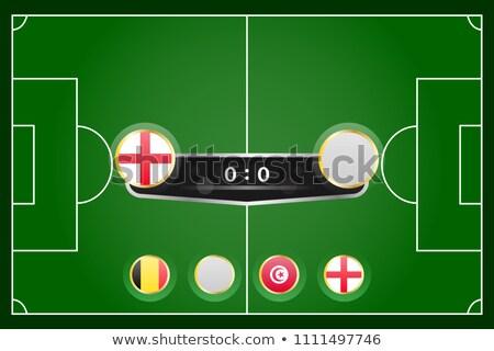 Football match Panama vs. Tunisia Stock photo © Zerbor