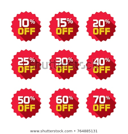 15% discount label Stock photo © 5xinc