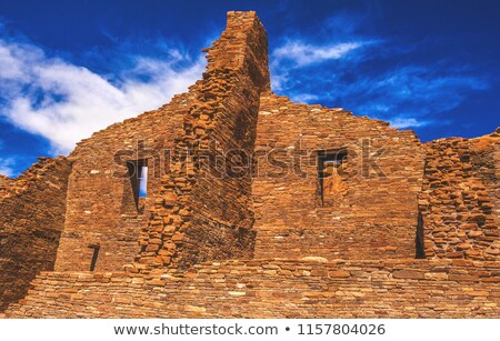 doorway chaco canyon stock photo © fotogal