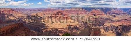Foto stock: Ocidente · Grand · Canyon · panorama · Arizona · EUA