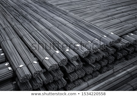 Warehouse building rebars Stock photo © Kotenko