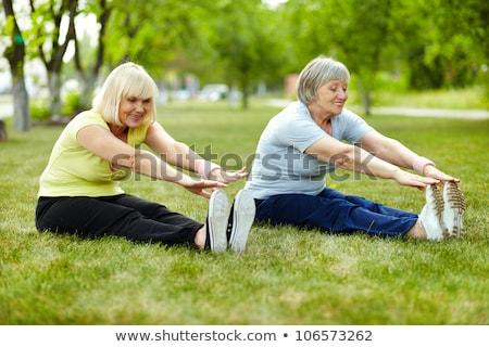 supérieurs · dame · corps · flexibilité · dames - photo stock © boggy