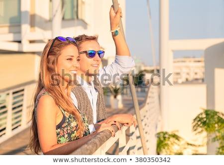 весело дата улыбка пару Сток-фото © ruslanshramko