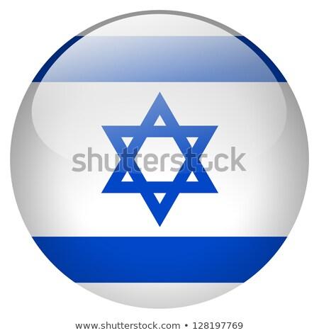 Izrael zászló terv matrica illusztráció művészet Stock fotó © colematt