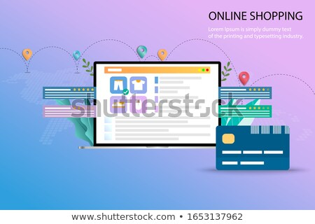 Credit rating concept vector illustration. Stock photo © RAStudio