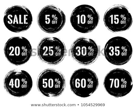 Sale on Black Friday Discounts 35 Percent Off, Box Stock photo © robuart