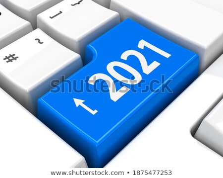 Computer keyboard 2020 #3 Stock photo © Oakozhan