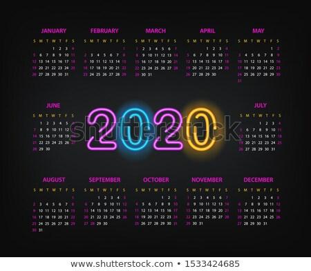 nieuwjaar · counter · ontwerp · bestanddeel · bellen · tonen - stockfoto © oakozhan