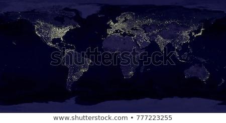 City · Lights · Мир · карта · Индия · Элементы · изображение · город - Сток-фото © nasa_images