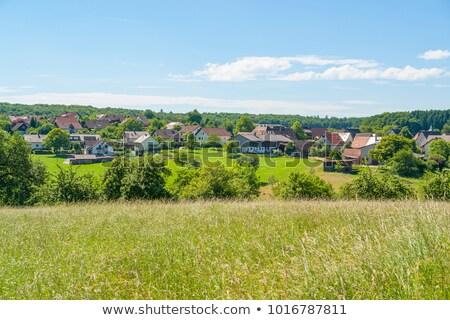 Schleierhof in Hohenlohe Stock photo © prill