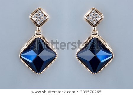 Gyönyörű nagy gyémánt nagy ékszer 3D Stock fotó © AlexMas