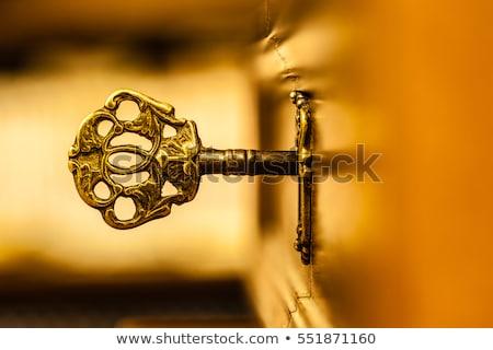 Golden Key Stock photo © ajn